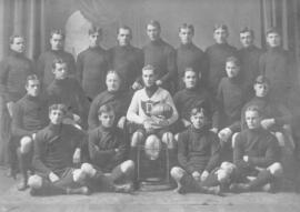 Photograph of the 1906 Dalhousie Football team