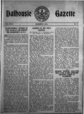 The Dalhousie Gazette, Volume 47, Issue 5