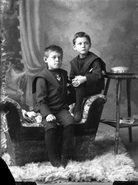 Photograph of Mrs. McKenzie's sons