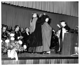 Photograph of Faculty of Medicine Convocation 1967