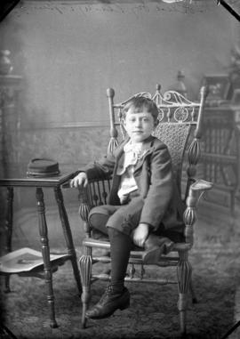 Photograph of Mrs. Holmes' son