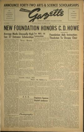 Dalhousie Gazette, Volume 85, Issue 6