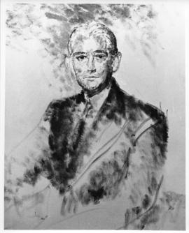 Photograph of a painting of Izaak Walton Killam