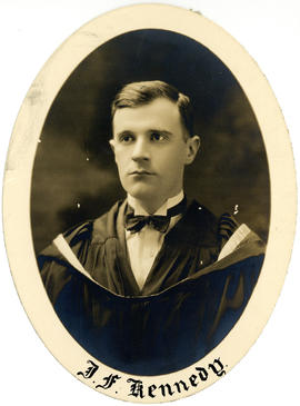 Portrait of Joseph Francis Kennedy : Class of 1927