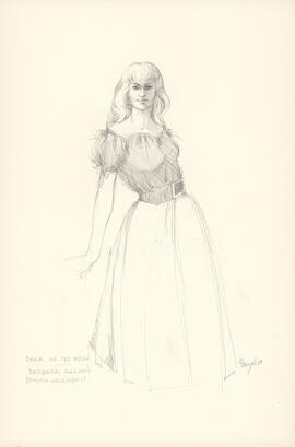 Costume design for Barbara Allan