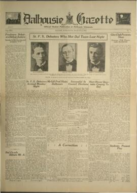 Dalhousie Gazette, Volume 64, Issue 19
