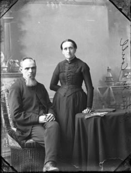 Photograph of Mr. John McCoull and his wife