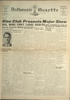 Dalhousie Gazette, Volume 68, Issue 15
