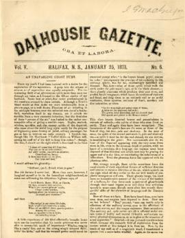 Dalhousie Gazette, Volume 5, Issue 6