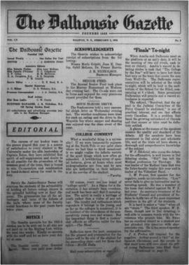 The Dalhousie Gazette, Volume 55, Issue 5