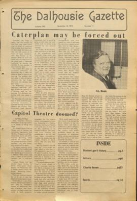 The Dalhousie Gazette, Volume 106, Issue 11