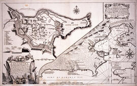 Plan of the city and Harbour of Louisbourg