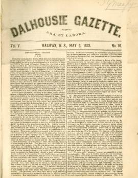 Dalhousie Gazette, Volume 5, Issue 10