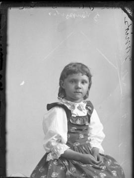 Photograph of  Mrs. J. W. McDonald's daughter