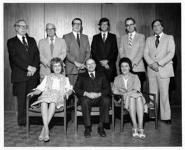 Photograph of the Abbey Lane Hospital Board of Directors 1981