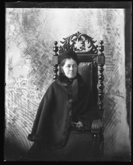Photograph of Mrs. Thomas McQueen