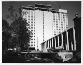 Photograph from the Sir Charles Tupper Medical Building construction
