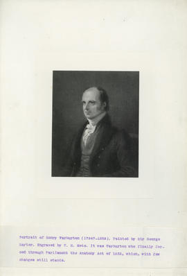 Portrait of Henry Warburton (1784-1858)