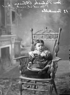 Photograph of Mrs. Patrick O'Brien's baby