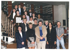 Photograph of the W.K. Kellogg Library Staff 1997