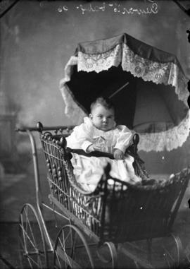 Photograph of Mrs. Stewart's baby