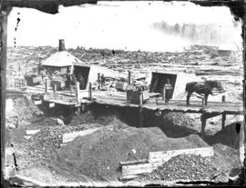 Photograph of a coal mine