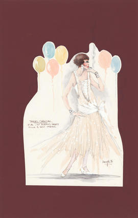 Costume design for Eve : first evening dress