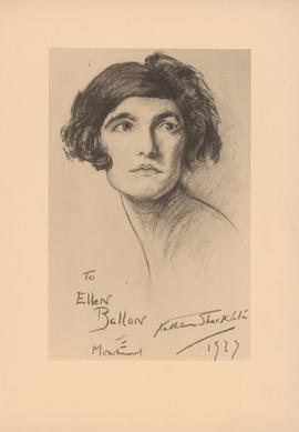 Sketch of Ellen Ballon