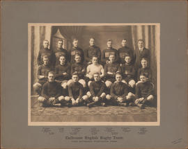 Photograph of Dalhousie English Rugby Team - Intercollegiate Champions