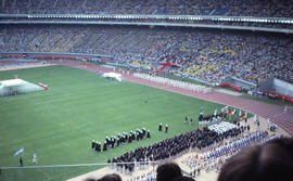 Photograph of the opening day ceremony