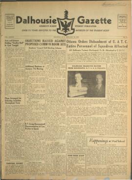 Dalhousie Gazette, Volume 77, Issue 10