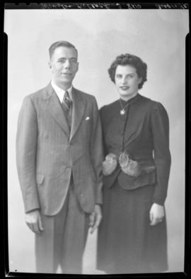 Photograph of Mr. Winston Kellock & Mrs. McDonald