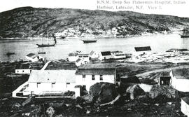 Photograph of Royal National Mission Deep Sea Fishermen Hospital, Indian Harbour, Labrador, Newfo...