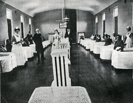 Photograph of a Victoria General Hospital ward