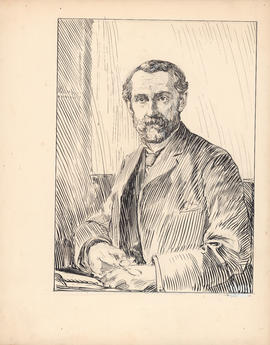 James Gordon MacGregor, F.R.S. Professor of physics, 1879–1901 : [drawing]