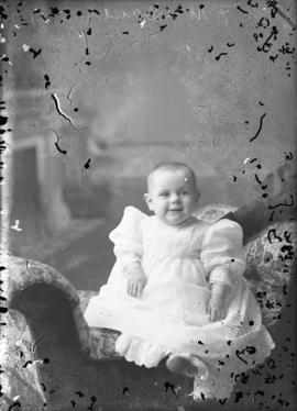 Photograph of  J. F. McDonald's baby