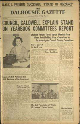 The Dalhousie Gazette, Volume 82, Issue 32