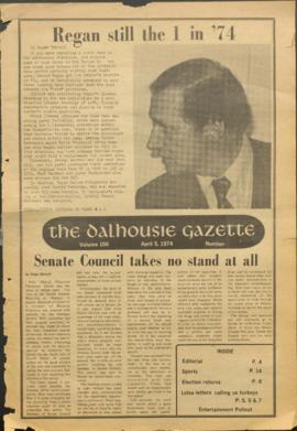 The Dalhousie Gazette, Volume 106, Issue 26