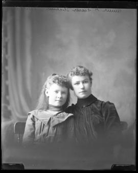 Photograph of Annie Fraser & friend