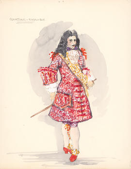 Costume design for courtier