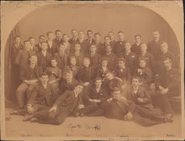 Photograph of Class of 1896
