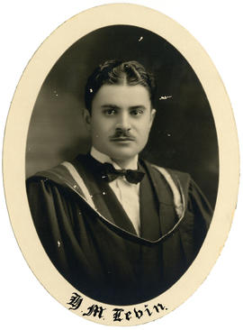 Portrait of H.M. Levin : Class of 1926