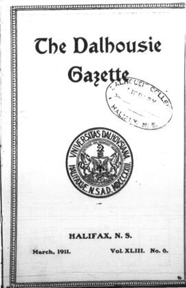 The Dalhousie Gazette, Volume 43, Issue 6