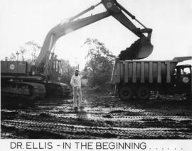 Photograph of Dalplex Construction and Dr. Ellis