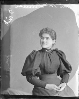 Photograph of Miss McLellan