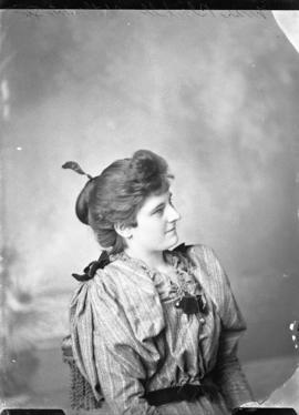 Photograph of Miss Blackwell