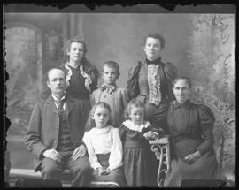Photograph of Mr. McIntosh and family