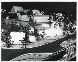 Photograph of a model of the Dalplex