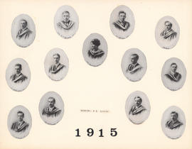 Composite Photograph of the Faculty of Medicine - Class of 1915