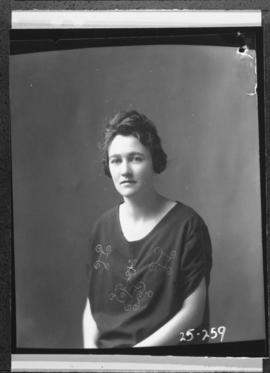 Photograph of Miss Hazel McLeod